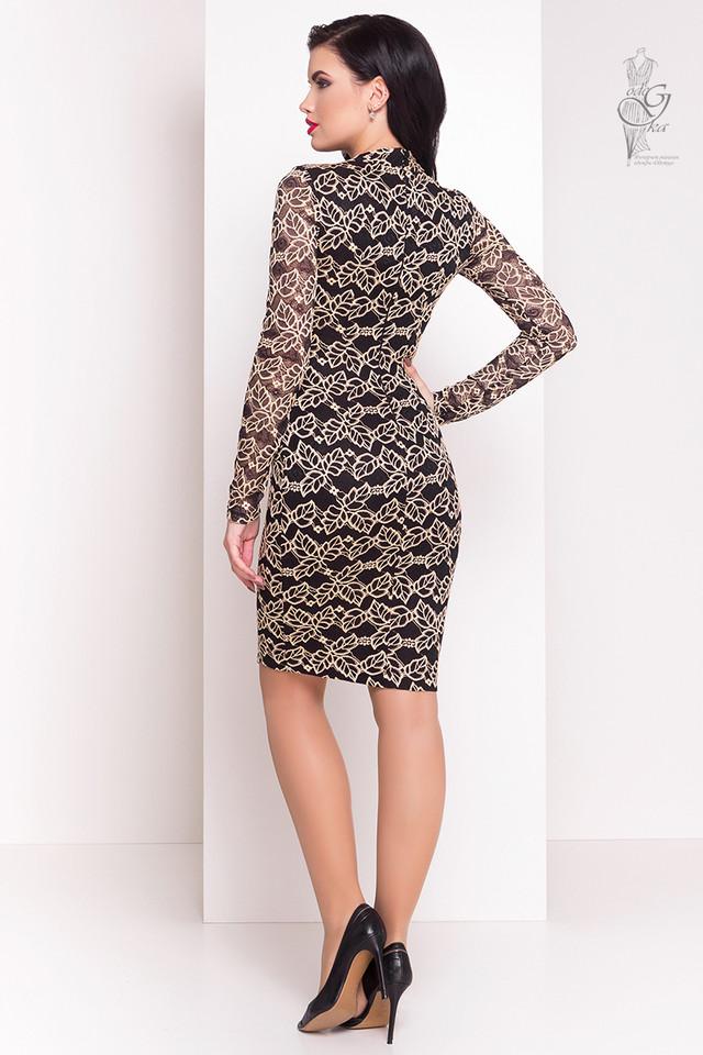 Фото-1 Облегающего платья Кружева-3