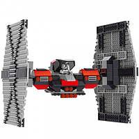 Конструктор для мальчиков QS08 серия Stars Wars 88096 Т-Файтер Первого Ордена (аналог Lego Star Wars)