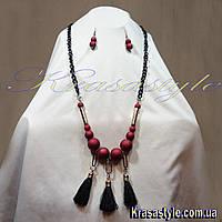 Ожерелье на крупной на цепи, фото 1
