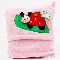 Детский плед микрофибра c подушкой по низкой цене. Размер 75 х 100 см.