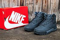 """Мужские зимние высокие кроссовки Nike Air Nevist  """"Grey"""""""