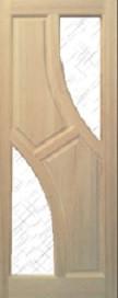Двери из массива сосны Фантазия
