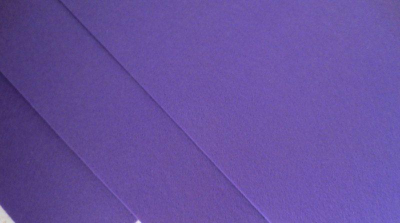 Фетр корейский жесткий 1.2 мм, 20 на 30 см Фиолетовый