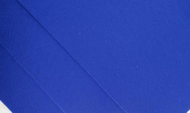 Фетр корейский жесткий 1.2 мм, 20 на 30 см Синий