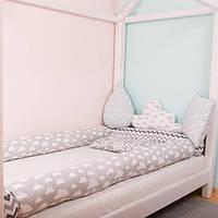 Бампер - защита на детскую кроватку, позиционер