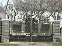 Кованные ворота Тиса