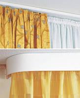 Карниз для штор пластиковый потолочный ОМ