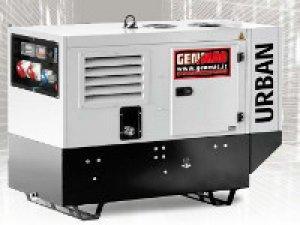 Дизельный генератор Genmac Urban G15000 KSM (10,8 кВт)
