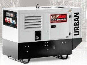 Дизельный генератор Genmac Urban G15000 KSM (10,8 кВт), фото 2