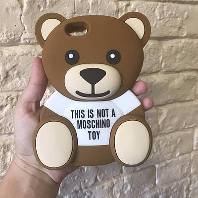 Чехол накладка на iPhone 6/6s медведь Moschino