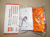 Фонарь габаритный бок. груз. авто, автобусы, прицепы 12В (оранжевый) (светодиод)