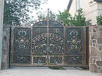 Кованные ворота Сириус
