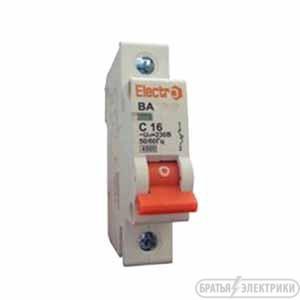 Автоматический выключатель ElectrO 1x63а