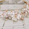Тиара веночек диадема Аленький Веночек белый для волос украшения веночки, фото 3