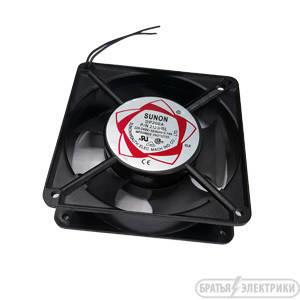 Вентилятор чорний алюмінієвий 180*180*60