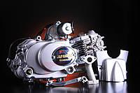 Двигатель Дельта Альфа 125 сс механическое сцепление