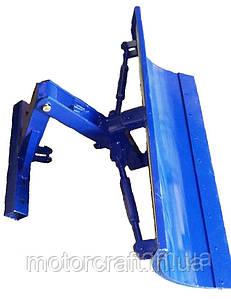 Лопата-отвал мототрактора (ширина 1м) с гидроцилиндром и шлангами