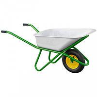 Тачка садово-строительная, усиленная, грузоподъемность 200 кг, объем 90 л// PALISAD 68918