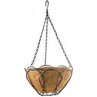 Подвесное кашпо, 25 см, с кокосовой корзиной// PALISAD 69001