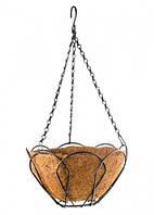 Подвесное кашпо, 30 см, с кокосовой корзиной// PALISAD 69002