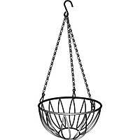 Подвесное кашпо, диаметр 25,4 см, высота с цепью и крюком 53,5 см// PALISAD 69016
