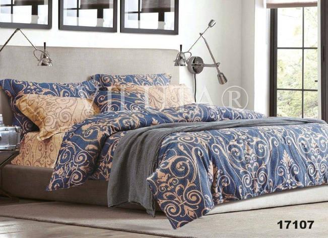17107 Полуторное постельное белье ранфорс Viluta, фото 2