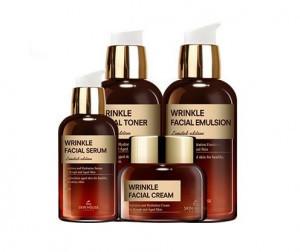 Набор для ухода за зрелой кожей лица The Skin House Wrinkle Facial Set