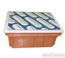 Коробка монтажная внутренняя оранжевая 130*130