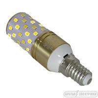 LED лампа (колпачок) Е14 13Вт (,белый цвет+ желтый)