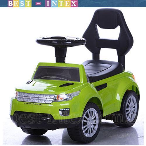 Каталка-толокар Bambi FD-6805-5 Свет+Музыка Зелёный Land Rover