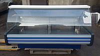 Витрина кондитерская Технохолод 2 м. бу, холодильная кондитеская витрина б/у