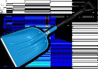 Лопата для снега с алюминиевым профилем
