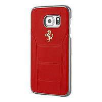 Чехол CG Mobile FERRARI 488 GOLD LOGO для Samsung Galaxy S7 Red (FESEGHCS7RE)