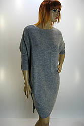 Вязана туніка-сукня з люрексом oversaize Binka 1466