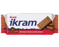 Шоколадное печенье Ikram Турция