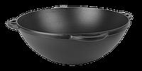 Чугунный казан азиатский эмалированный с матовым покрытием внутренней и наружной поверхности (d=340, V=8 л ЭМ)