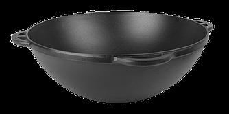 Чавунний казан азіатський емальований з матовим покриттям внутрішньої і зовнішньої поверхні (d=340, V=8 л ЕМ)