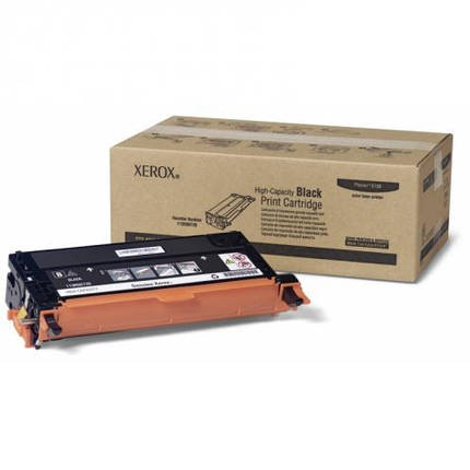 Тонер картридж Xerox PH6180 Black (Max), фото 2