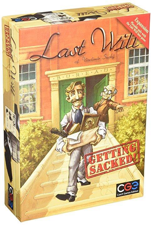 Настольная игра Last Will: Getting Sacked (Последняя воля. Уволен)