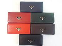 Недорогой коричневый женский кошелек, фото 1
