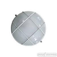 Светильник круглый с решеткой (металл) 60 Вт