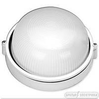 Светильник круглый без решетки (металл) 60 Вт