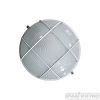 Светильник круглый с решеткой (металл) 100 Вт