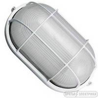 Светильник овал с решеткой (металл) 100 Вт