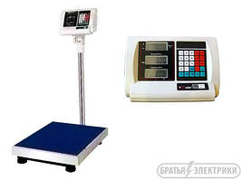 Весы 350кг электронные напольные