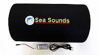 """Сабвуфер 10"""" Sea Sounds со встроенным усилителем """"труба"""" (""""boombox""""). Высокое качество. Стильный. Код: КДН2774"""