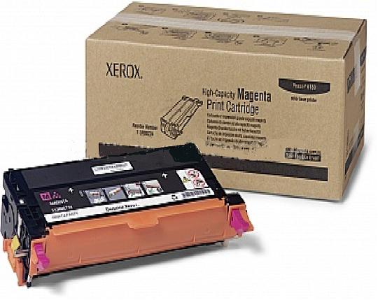 Тонер картридж Xerox PH6180 Magenta, фото 2