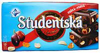 Шоколад Studentska Pacet черный с изюмом и орешками (180 гр) Чехия