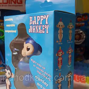Интерактивная ручная обезьянка Fingerlings / Happy Monkey (реплика), фото 2