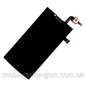 Дисплейный модуль Philips S398 черный